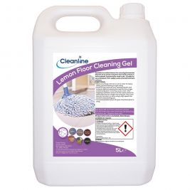 Cleanline Lemon Floor Cleaning Gel 5 Litres
