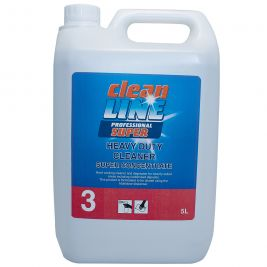 Cleanline Super Heavy Duty Cleaner Super Concentrate 5 Litres 1x2