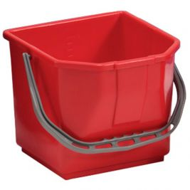 Plastic Bucket 15 Litres Red