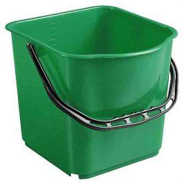 Plastic Bucket 15 Litres Green