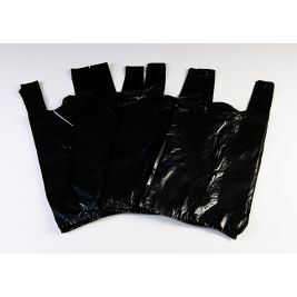 BLACK UNSCENTED INCONTINENCE DISPOSABLE BAG 20 X 100 CASE