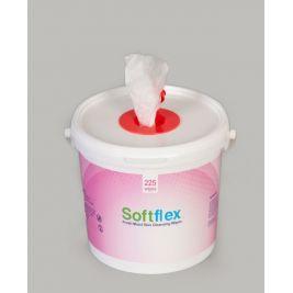 SOFTFLEX WET WIPE TUBS (CASE) 4X225