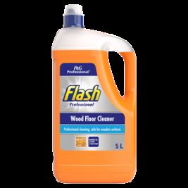FLASH PROF WOOD FLOOR CLEANER 5L
