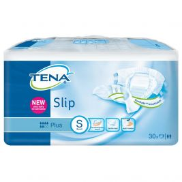 TENA SLIP PLUS SMALL BLUE (CASE) 3X30