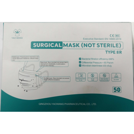 FACEMASK TYPE IIR PACK OF 50