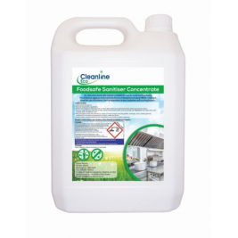 CLEANLINE ECO FOOD SAFE SANTISER 1X5LTR