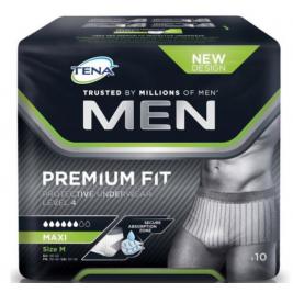 TENA MEN PREMIUM FIT UNDERWEAR MED 3X10
