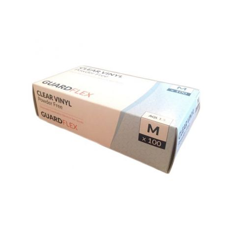 GLOVES VINYL P/F XL (CASE) 10X100