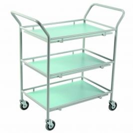 Gp Trolley 3 Shelves Laminate