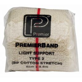 Premierband Light Support Bandage Non-sterile 5cmx4.5m