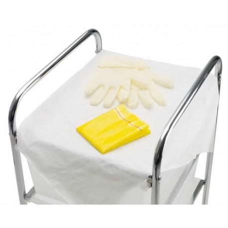 Premier Polyfield Dressing Aid with Latex P/F Gloves Medium 1x50