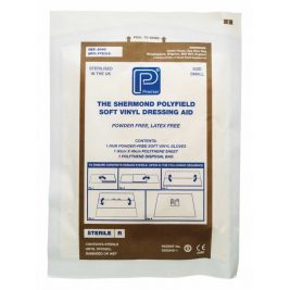 Polyfield Dressing Aid With Soft Vinyl Pf Glove Large 1x50