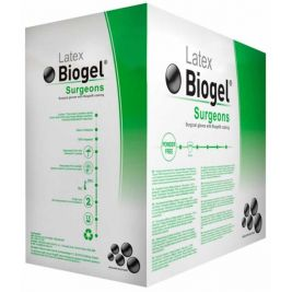 Biogel Surgeons Sterile Latex P/F Surgical Gloves 7.5 1x50