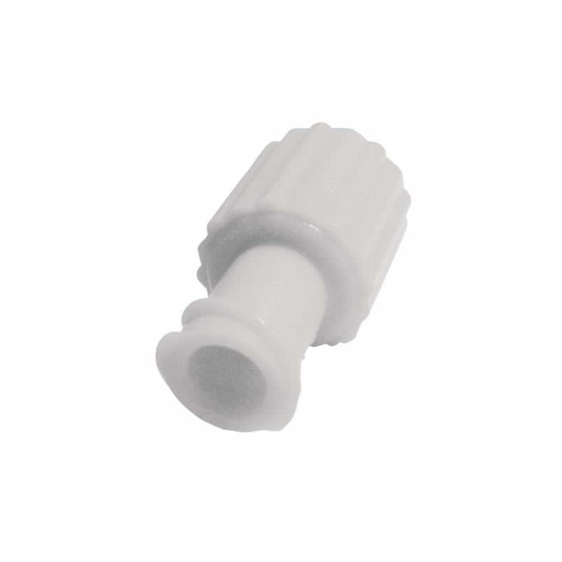 Obturator Cap Male Female Luer Lock White