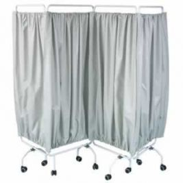 Bristol Maid Four Section Folding Curtain Screen