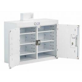 Drug Cabinet 2 Door Deep Shelves W/ Light 80x30x60cm