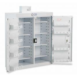 Drug Cabinet 2 Door Std Shelves W/ Light 80x30x90cm