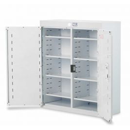 Drug Cabinet 2 Door Deep Shelves W/o Light 80x30x90cm