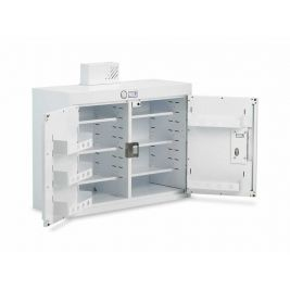 Drug Cabinet 2 Door Std Shelves W/ Light 100x30x60cm