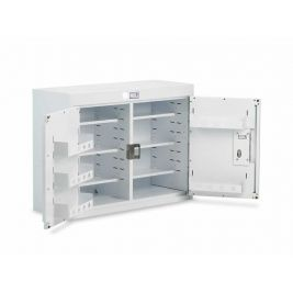 Drug Cabinet 2 Door Std Shelves W/o Light 100x30x60cm
