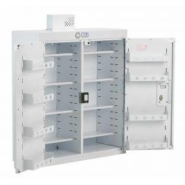 Drug Cabinet 2 Door Std Shelves W/ Light 100x30x90cm