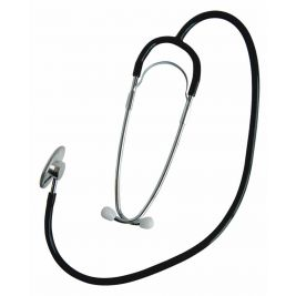 Uhs Single Head Stethoscope Black