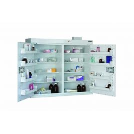 Controlled Drug Cabinet 8 Shelf 85x100x30cm