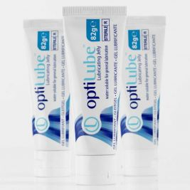 OptiLube Sterile Lubricating Jelly Tube 82g 1x12