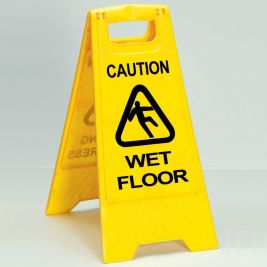 Robert Scott Wet Floor Warning Sign