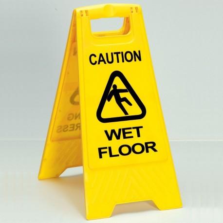 Wet Floor Warning Sign