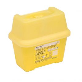 Sharpsafe Sharps Bin Yellow Lid 2l