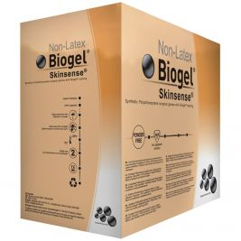 Biogel Skinsense Sterile Synthetic P/F Surgical Gloves 7.5 1x50