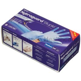 Readigloves Nytraguard Nitrile P/F Gloves Medium 1x200