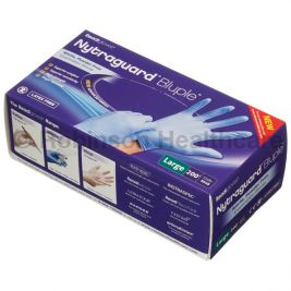 Readigloves Nytraguard Nitrile P/F Gloves Large 1x200