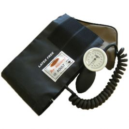 Limpet Aneroid Sphygmomanometer Coiled Tube Cuff