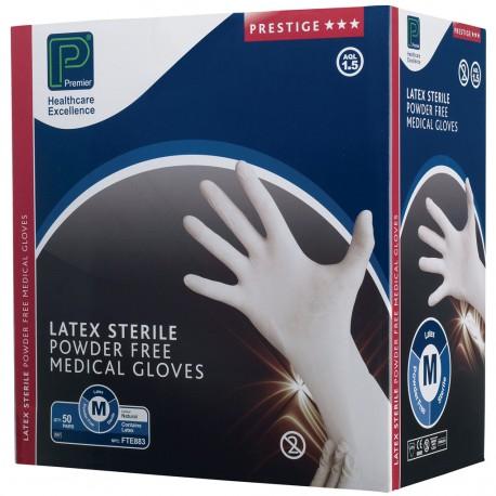 LATEX P/FREE STERILE MED x50 PR