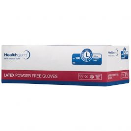 Healthgard Latex P/F Gloves Large 1x100