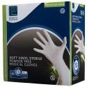 Soft Vinyl Sterile P/F Gloves