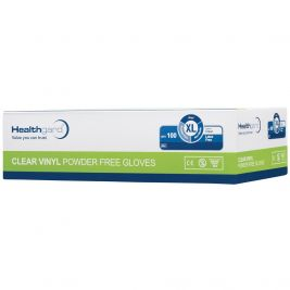Healthgard Clear Vinyl P/F Gloves Extra Large 1x100
