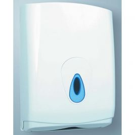 Z-Fold Towel Dispenser White