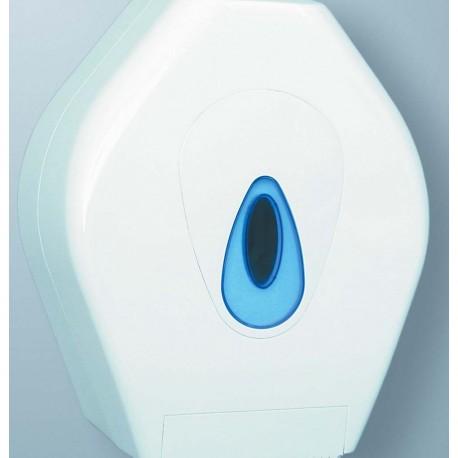 Mini Jumbo Toilet Roll Dispenser White