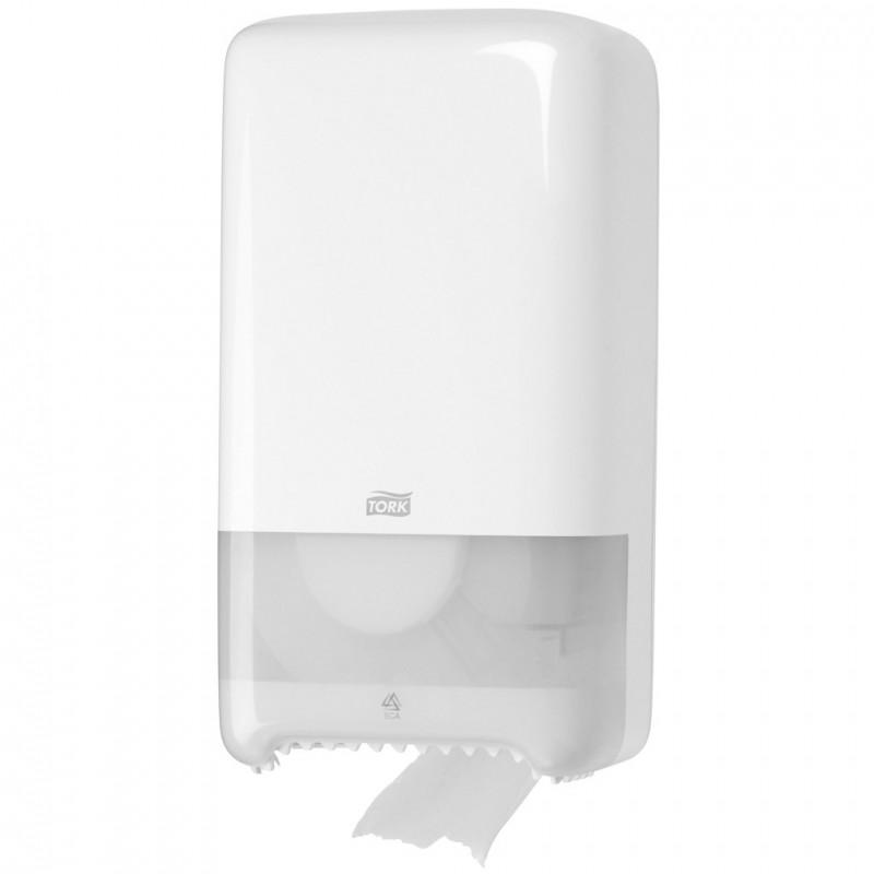 Tork Twin Mid Size Toilet Roll Dispenser