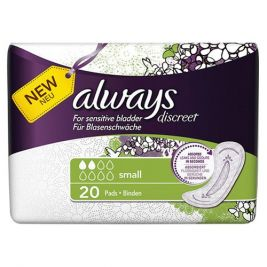Always Discreet Pads Small 6x20