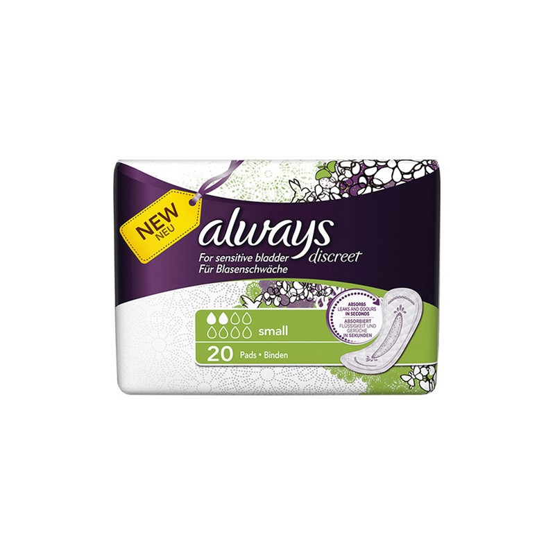Always Discreet Pads Small