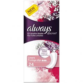 Always Discreet Liners 4x24