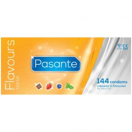 Pasante Condoms Clinic Pack Flavours 1x144