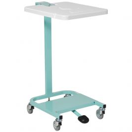 Linen Trolley Cantilever Frame Single Bag Pedal Lid