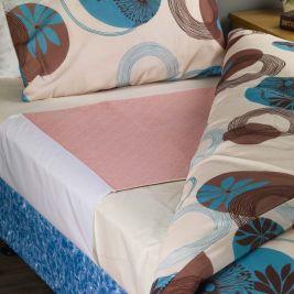 Senset Quick Dry Bed Pad 85cmx90cm Pink