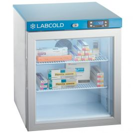 Labcold Pharmacy Fridge Glass Door 36l