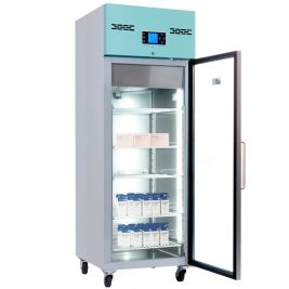 Lec Medical Pharmacy Fridge Glass Door 600l